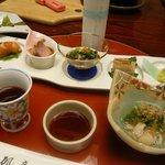 静楓亭 - 料理写真:先付&前菜