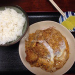 お食事処ときわ - ご飯大盛りが普通です(550)