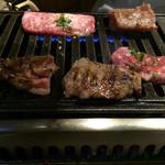 とくちゃん - カルビ3種、とろける味。photo@Mac1971