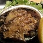 鮨処 竜敏 - あわびステーキ
