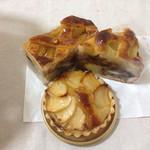 壷屋  - リンゴタルト、梨タルト、リンゴパイ