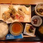 割烹つかさ - 天ぷら御膳 (上) 2,000円