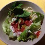 トリコカレー - セットのパスタサラダ