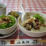 横浜中華街 福養軒 - 塩あんかけ麺セット