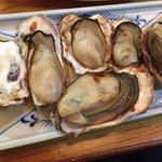 漁火 - 牡蠣焼き
