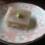 花遊膳 野菊 - お蕎麦の粉で作ったお豆腐もどき