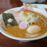 麺屋 にぼすけ本舗 - 特製海老そば味噌・・絶品!!