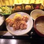 36412024 - 国産鶏唐揚げ・ネギソース(1,080円)