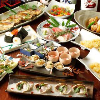 完全個室でおいしい日本酒と肴に舌鼓。~接待、飲み会、宴会に~