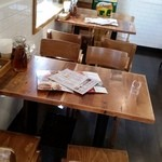 タイ料理研究所 - テーブル