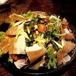 3642296 - 生ハムと野菜のサラダ
