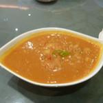 インド料理 ショナ・ルパ - この日はチキンカレーでした。