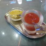 インド料理 ショナ・ルパ - タンドリーの薬味