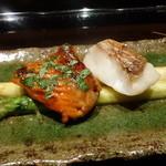 御料理 堀川 - ☆甘鯛と鱒の2種盛り☆