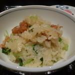 御料理 堀川 - ☆若ごぼうと鶏の土鍋ご飯☆