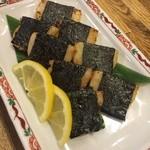 錦寿司 - 平貝磯辺焼き