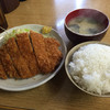 ほし野 - 料理写真:201503 とんかつ定食(500円)