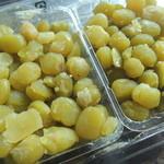 杵屋 - 富貴豆。見た目や食感が豆のまんまで風味もすぐに伝わってくる感じ。甘さは控えめ。
