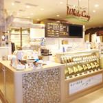 ミルク&パフェ よつ葉ホワイトコージ - 東京ソラマチウエストヤード3階「タベテラス」にあります。