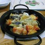 サンシャイン - 季節の野菜とソーセージの鉄板焼