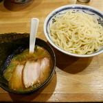 麺座風水 - 料理写真:201503特製つけめん¥900 +ゆず¥50