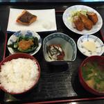 魚元 - 日替わりランチ     800円