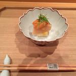 壽山 - 2015/03 ホワイトアスパラ、ほたて、赤貝