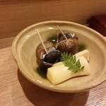 36437441 - 新竹の子とつぶ貝