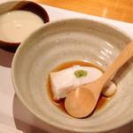 36438536 - 豆乳とピーナッツ豆腐