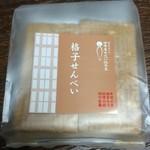 田中屋せんべい総本家 - 格子せんべい 10枚 378円