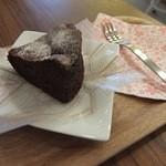 36438967 - 【15年3月】自家製濃厚ショコラケーキいただきました!