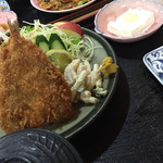 あさひ - アジフライ定食(950円)★★★★★