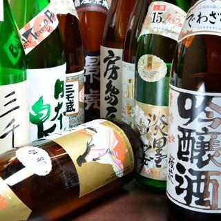 地酒にこだわりあり◎店主厳選の岐阜の酒を一献。