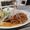 しもきたふぁーむ - 料理写真:定食。生姜焼きだったかな