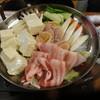 晩や食堂 - 料理写真:豚ばら肉の寄せ鍋