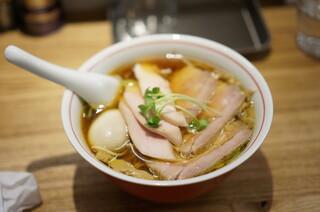 麺尊 RAGE - 特製軍鶏そば1050円