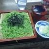 そば処東家 - 料理写真:ざるそば 茶蕎麦ではありません(笑)