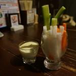 串カツ しでん  - 野菜セット
