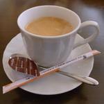 ベリーグッドマン - ランチ付属のドリンクにホットコーヒー選択