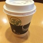 バーガーキング - 赤坂TBS前のバーガーキングで時間調整。 コーヒーイマイチ(^^