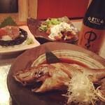 味彩 中々 - 魚の煮付け・チキン南蛮・サーモンのお刺身