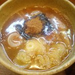 宮崎とんこつ 神楽 - 豚骨・魚介つけ麺 つけ汁