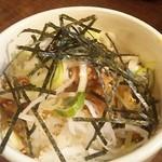 麺や ゼットン - 肉みそ丼  280円