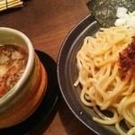 麺や ゼットン - モーレツ エビ辛つけ麺 800円