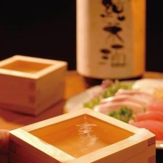 日本酒にこだわる旨い日本酒揃えました
