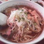 安記 - ラーメンは優しい醤油スープ