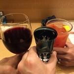 ムーン カフェ - 乾杯! ※2015年3月