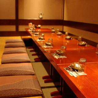 ◆送別会◆幹事様必見◎掘り炬燵完全個室は最大22名様まで可能