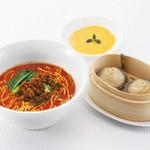 石庫門 - [デザート付き]上海小籠包と中華麺セット