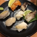 スシロー - 料理写真:貝のセット980円